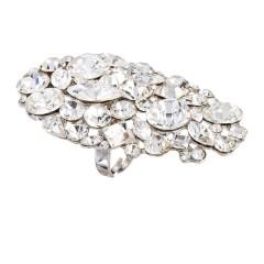 Swarovski Crystal Large Long Cluster Fashion Adjustable Ring