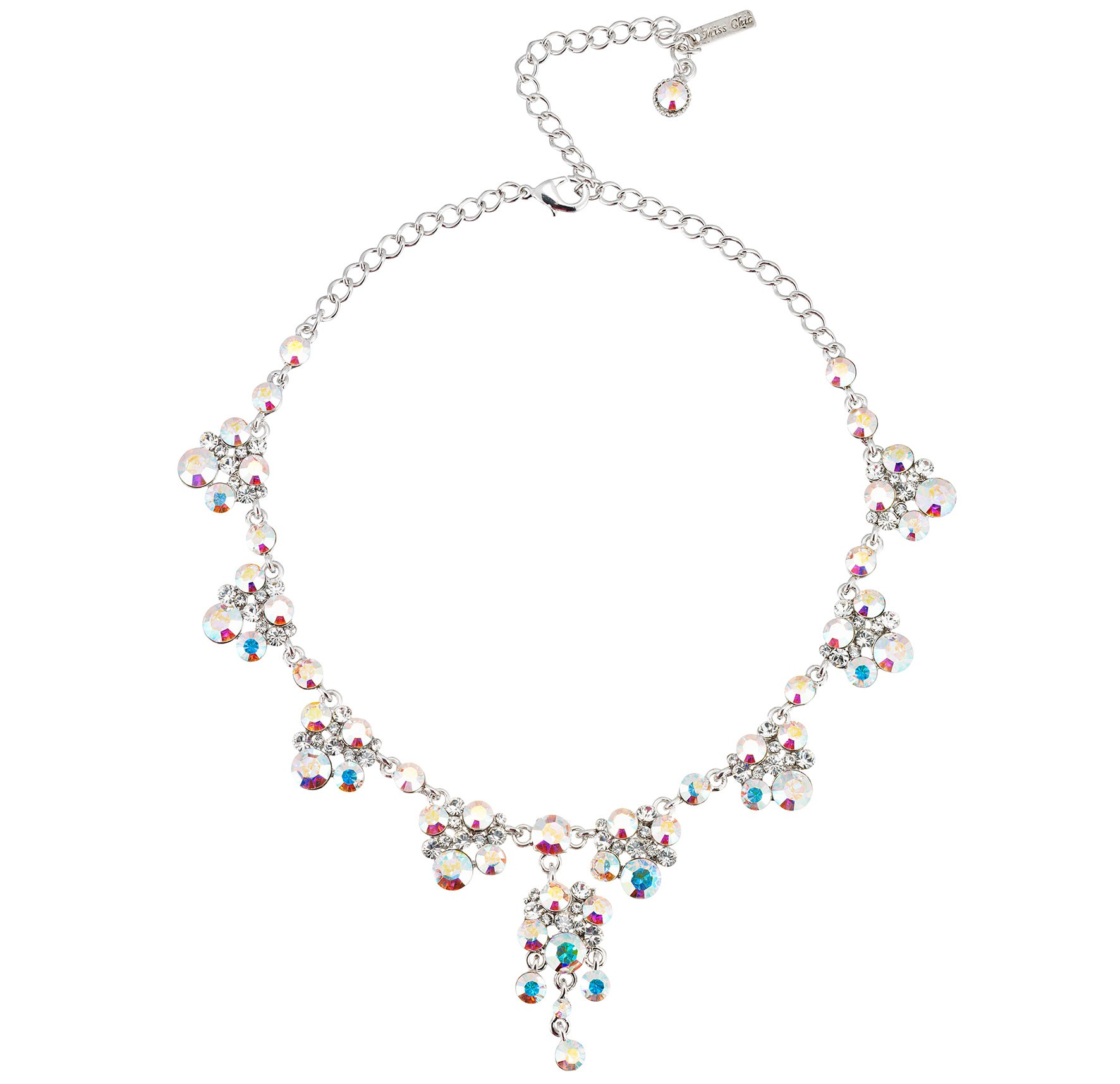 clear powered crystal necklace necklaces products store img maranatha collections original by online storenvy