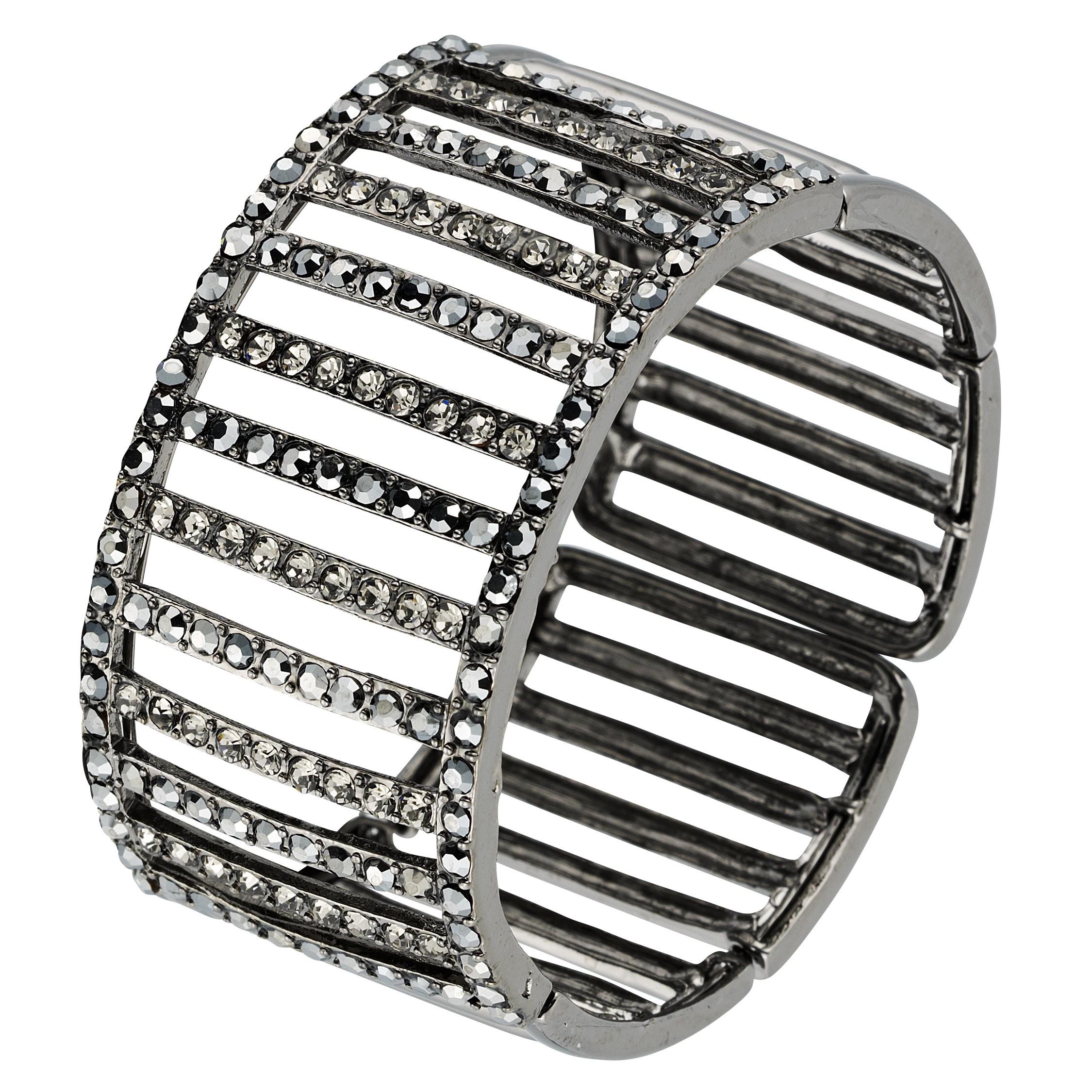 774900ef82e5 Swarovski Crystal Swarovski Crystal Cuff Adjustable Bracelet