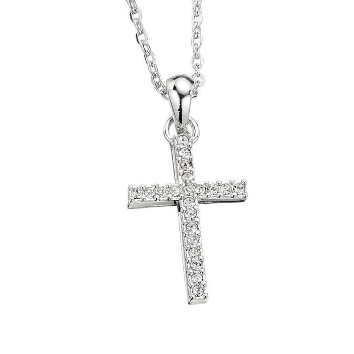 Swarovski Crystal Swarovski Crystal Cross Pendant Necklace