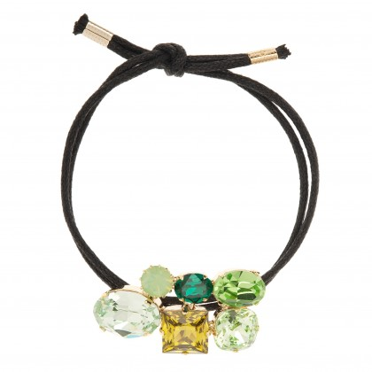 Martine Wester Crystal Craze Green Bracelet