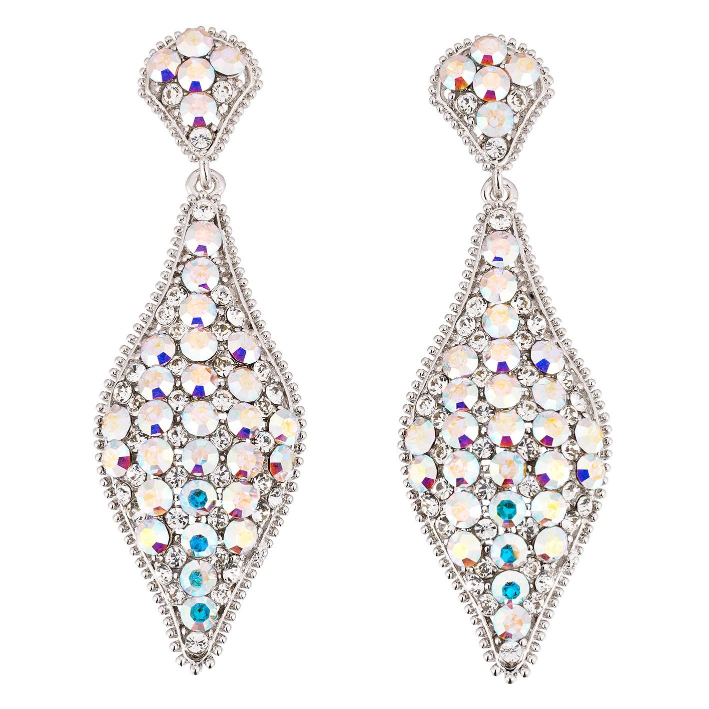 Swarovski Crystal Beauty Pageant Swarovski Crystal Ab Crystal Earrings Gemini Jewellery London Necklaces Earrings Bracelets And Hairpieces